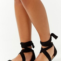 Strappy Wraparound Sandals