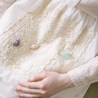 Stand Out Lace Skirt (White) - Miss Patina