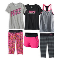 Girls 7-16 Nike Get Up and Go Collection