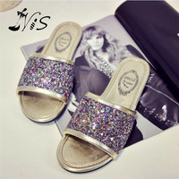Summer Bling Beach open Toe  Sandals
