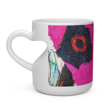 Love Cup Heart Shape Mug