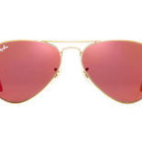 NEW SUNGLASSES RAY-BAN  AVIATOR  58  MEDIUM RB3025 in Copper/Bronze