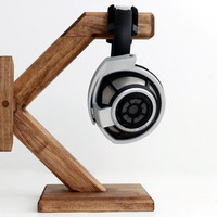 Wood Headphone Stand/ Multiple Headphone Stand/Headphone Station X
