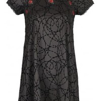 Fearless Illustration Thorn In My Side Bambi Dress | Attitude Clothing