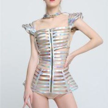 Burning Man Costume Cosplay Space Wear