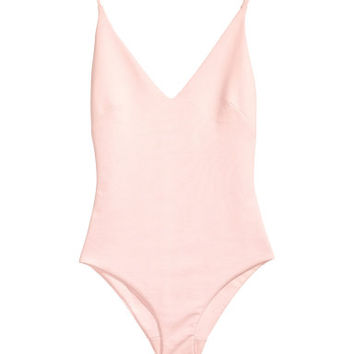 H&M V-neck Bodysuit $29.99