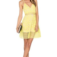 Lovers + Friends Bellini Dress in Sunshine