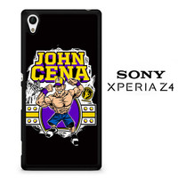John Cena Cenation Cartoon V0479 Sony Xperia Z4 Case