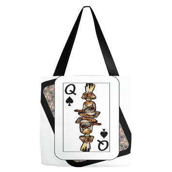Play Your Hand...Queen Spade No. 4 Everything Tote Bag