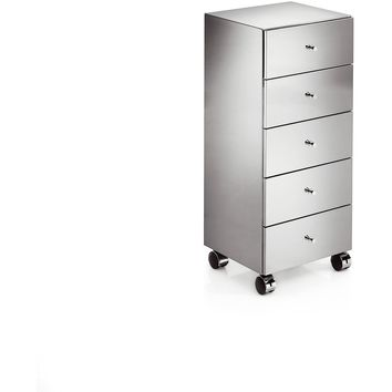 LB Runner Standing Steel Mobile Cabinet Storage Wheel Office File Cabinet
