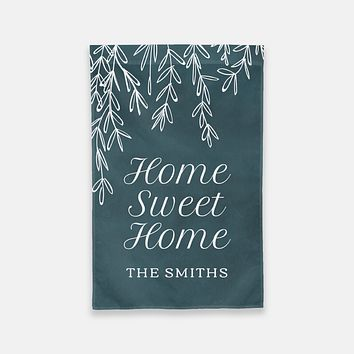 Home Sweet Home Personalized Garden Flag