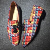 Cl Christian Louboutin Loafer Style #2312 Sneakers Fashion Shoes - Best Online Sale