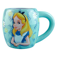 Disney Alice In Wonderland Floral Mug