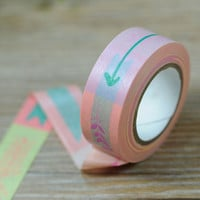 Arrow Washi Tape / Colorful Masking Tape / Adhesive Tape / Scrapbooking Stationery Card Making / Planner Sticker Wedding Party 10m b01