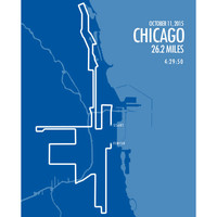 New Chicago Marathon 2015 - LIMITED SALE - FREE Shipping!