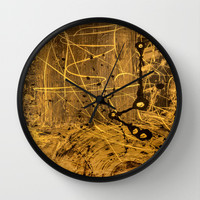 Constantine Wall Clock by Bruce Stanfield