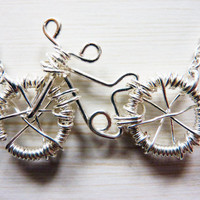 Handsculpted Wire Bicycle Necklace Bicycle Pendant by WeirdlyCute