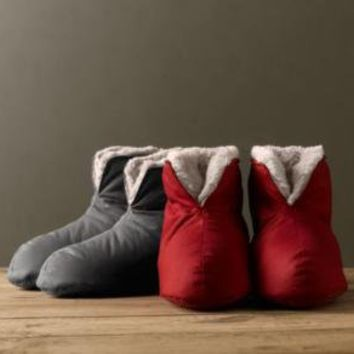 Luxury Plush Foot Duvet Collection | Slippers | Restoration Hardware
