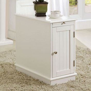 Lucer Contemporary Cabinet, White