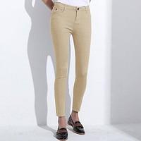 STYLEDOME Women's Candy Pants Pencil Trousers