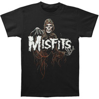 Misfits Men's  Mystic Fiend T-shirt Black