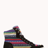 Electric Striped Sneakers