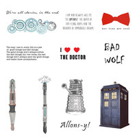 Doctor Who Temporary Tattoo Pack (Set of 24)