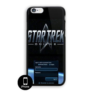Star Trek Login iPhone 5, 5S Case