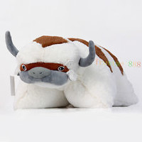 New The Last Airbender Appa Avatar Plush Pillow Stuffed Toy Xmas Gift