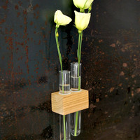 Magnetic Test Tube Flower Vase