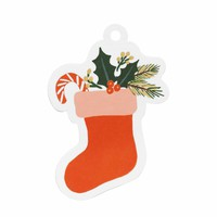 Holiday Stocking Die-Cut Gift Tags