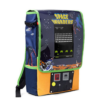 Space Invaders Arcade Cabinet Backpack