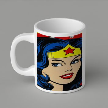 Gift Mugs | Wonder Woman Ceramic Coffee Mugs