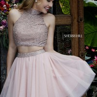 Sherri Hill 11287 Jeweled 2 Piece Party Dress