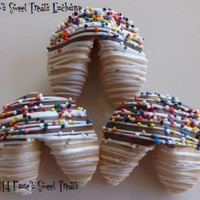 25 Chocolate Dipped Fortune Cookies, Personalized, Corporate Gifts,Baby Shower, Weddings, Bridal Shower, Announcements, Gender Reveal, Party