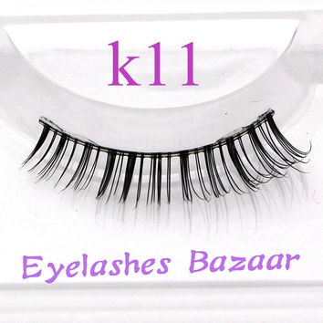 3pcs/lot eyelashes human hair