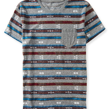 Southwest Stripe Pocket Tee