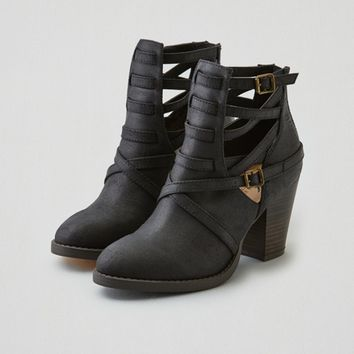 AEO STRAPPY HEEL BOOTIE