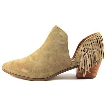 Report Womens Ignatious  Pointed Toe Ankle   Fashion Boots (Size: 8.5, Color: Tan)