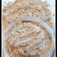 Translucent Finishing Mineral Veil Loose Mineral Makeup 20g Sifter Jar Very Fair to Light Skin Tones Finishing Foundation Gluten Free