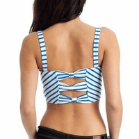 striped crop top  | GoJane.com