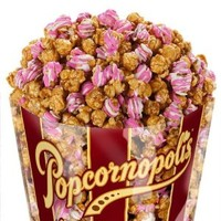Popcornopolis Gourmet Strawberries & Cream Popcorn, 11-Ounce Bags (Pack of 2)