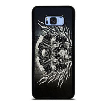 HARLEY DAVIDSON SKULL ENGINE Samsung Galaxy S8 Plus Case Cover