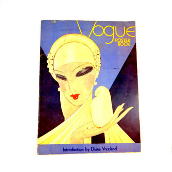 Vogue Poster Book from 1975