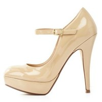 Platform Mary Jane Pumps by Charlotte Russe