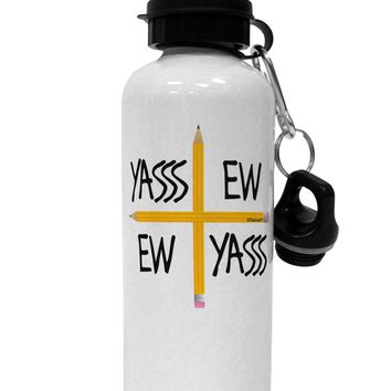 Charlie Charlie Challenge - Funny Aluminum 600ml Water Bottle