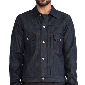 Citizens of Humanity Scout Jacket in Navy