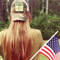 Camo Army Wife Hat