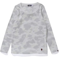 CITY CAMO L/S TEE LADIES