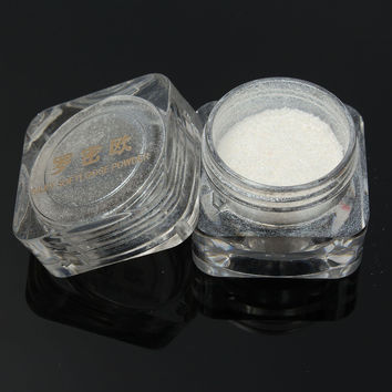 Shimmer White Foundation Loose Highlighting Eyeshadow Powder Eye Makeup